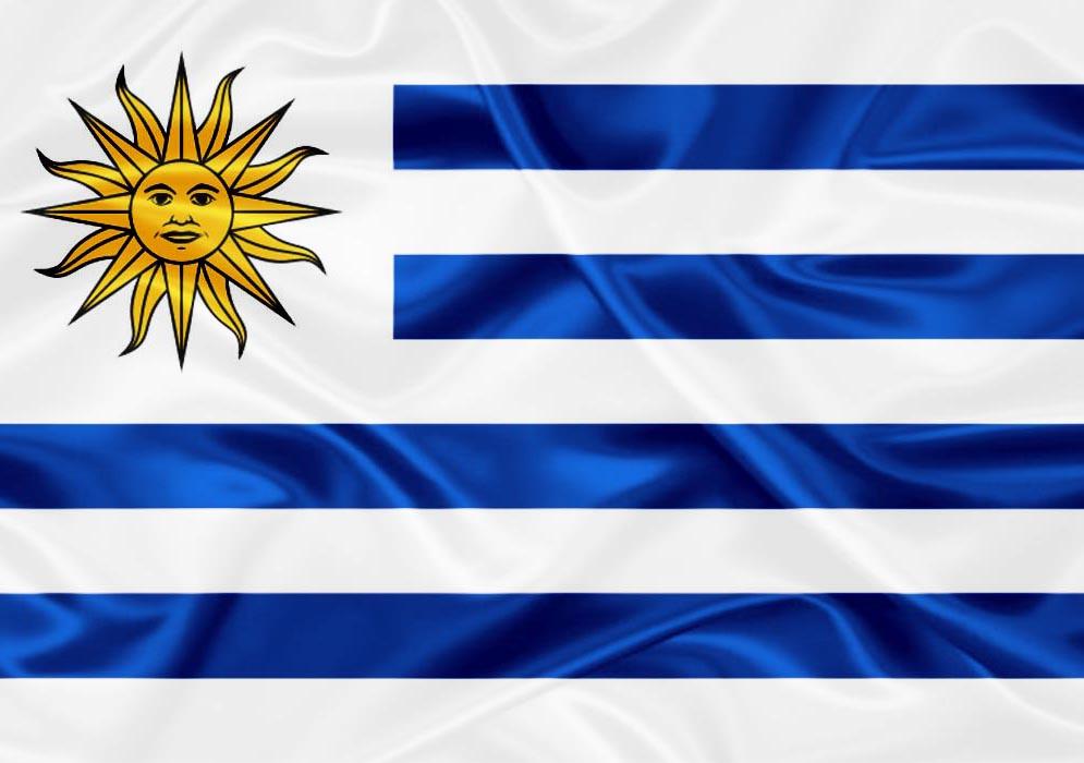 Resultado de imagem para bandeira do uruguai